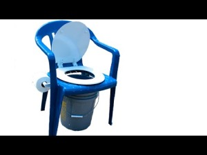 camp chair potty
