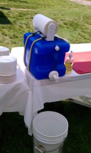 Camp Hand Washing Station