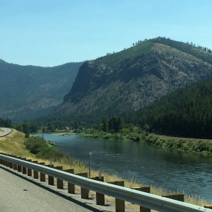 I-90 Along the Clark Fork River, Eastern Montana
