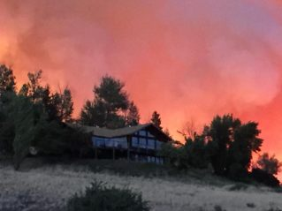 twisp fire 081915 - House from SW